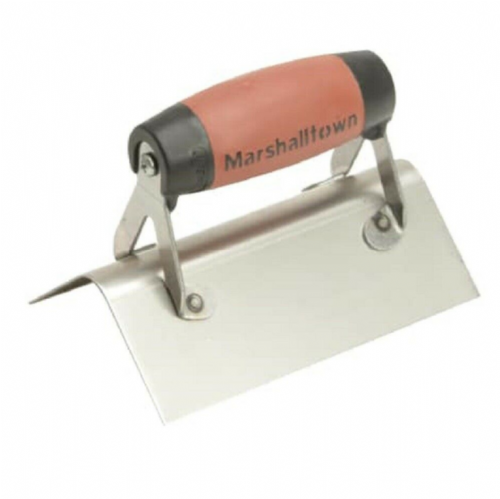 Marshalltown M68SSD Stainless Steel External Corner Trowel Rounded Corners